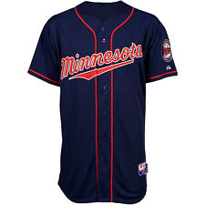 Majestic Athletic Minnesota Twins Blank Authentic  Road Cool Base Jersey