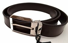 Men Belt Gianni Versace Collection Mens Nwt Real Leather 100% 120 authentic V074
