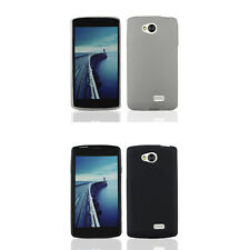 For LG Tribute TPU Fitted Transparent Gel Skin Case Slim Phone Cover Protector