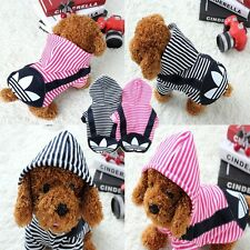 New Fashion Dog Puppy Clothes Hoodie Sweater Costumes Coat Soft Cotton
