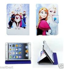 """Cute Frozen Cartoon Leather Case Cover For 8"""" HP 8 G2 Android Tablet"""