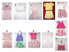 NEW Toddler Infant Baby Girls Pants Skirt Short Outfit Set Sz:0-3,3-6,6-9,12,18,