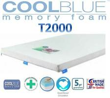 """Concept CoolBlue T2000 Memory Topper 5cm (2"""") 5 Year's Warranty Free Delivery!!!"""