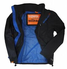 Superdry Mens Technical Windhiker Zip Jacket Electric Blue RRP £54.99 15% off