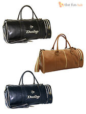 Dunlop Retro Holdall Gym Tennis Sports Duffle Shoulder Bag Flight Travel Luggage