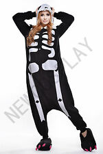 Cartoon Animal Skeleton Warm & Soft  Pyjamas  Homewear Jumpsuit Cosplay Pyjamas