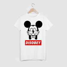 MICKEY HAND FUCK DOPE - T SHIRT UNISEXE SWAG DOOP HIPSTER OBEY DISOBEY RIHANNA