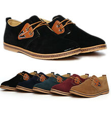 New Fall Winter Men's oxfords Casual shoes Suede European style leather Shoes
