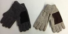NWT Men's Wool w/ Suede Palm Thermal Insulated Winter Gloves NEW!