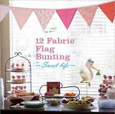 Party Banners Triangle Fabric Flags Bunting Xmas Store Window Home Decoration