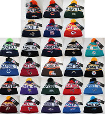 NFL Team Cap Beanie Hat with Pom - Variety of Teams Avail-NEWBORN/INFANT/TODDLER