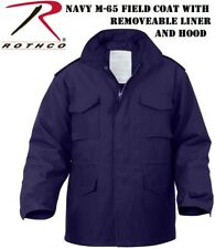 NAVY BLUE Military M-65 Field Jacket - Coat W/Liner M65 No.8527