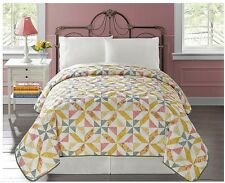 Bedding Quilt Comforter Bedspread Coverlet Bedroom Patterns Twin Queen King