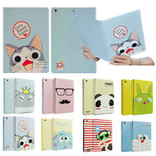 3D Cute Cartoon Leather stand Cover Case For iPad Air 2/1 iPad mini/ 2 3 4 +GIFT