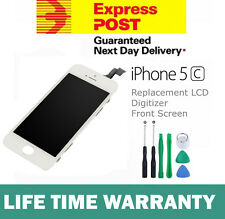 For iPhone 5C Replacement LCD Digitizer Front Screen Assembly Panel Black White