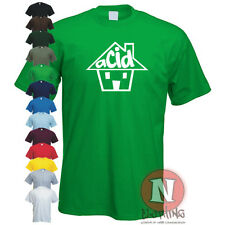 ACID HOUSE DJ,club,music,dance,rave,retro T-shirt