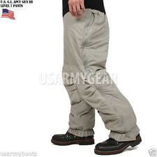 New ECW Gen III Level 7 Primaloft Extreme Cold Weather Insulated Pants Trousers