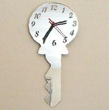 Yale Key Mirrored Clock
