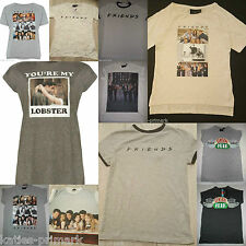 PRIMARK LADIES FRIENDS THE TV SERIES SHOW T SHIRT TOP UK 6 - 20 CENTRAL PERK NEW