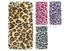 "Furry Leopard Cover Case for Apple iPhone 6 6S (4.7"")"