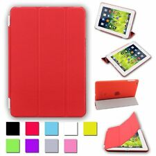 SLIM MAGNETIC LEATHER SMART CASE FOR TABLETS WITH BUILT IN STAND + STYLUS