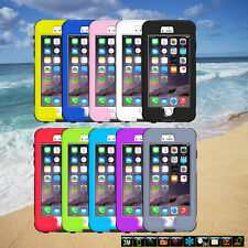 Fingerprint Touch ID Capable Waterproof Shell Case Cover For iPhone 6/6 Plus CN