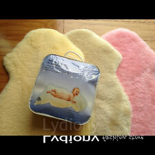 Australian Sheepskin Baby Infant Floor Rug Wool Sleeping Mats Crib Cot Bassinet