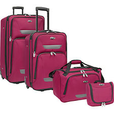 U.S. Traveler Westport 4-Piece Luggage Set 4 Colors