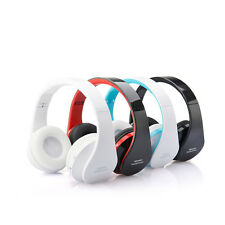 Foldable Wireless Stereo Bluetooth Headphone Earphone For iPhone Laptop Mobile