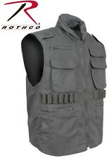 OLIVE DRAB Military Tactical Ranger Vest With Hood 7566