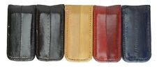 New Genuine EEL SKIN Magnetic/Magnet Bill Holder/Money Clip Wallet