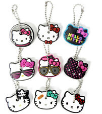 Lot 3 Pack Hello Kitty Rubber Key Caps Covers Holders