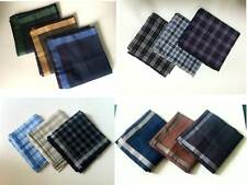 Handkerchief Men Gifts Pocket Square Hanky Wedding Party Handkerchief Lot Cotton