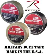 "MILITARY 100 MPH Duct Tape Roll 2"" x 60 Yards Self-Clinging Tape"
