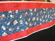 CHOICE: HANDMADE QUILTED CHRISTMAS TABLE RUNNERS