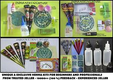 Worlds Best Henna kit for Beginner & Professionals for Body Art Temporary Tattoo