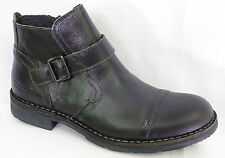 Chaussures bottines boots KICKERS Banjo cuir noir homme