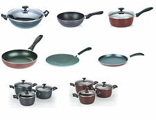 26,28,30 FRYING PAN NON STICK WOK CREPE COATED COOKING SURFACE FRYPAN BRAND NEW