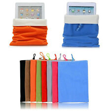 Soft Pouch Case Cover Bag Protector For Apple iPad 2 3 4 Air Samsung Galaxy Tab