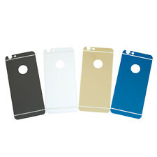 Mirror Effect Color Tempered Glass Back Protector for iPhone 6 4.7 / Plus 5.5
