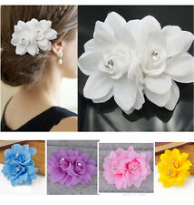 Hair Flower Clip Pin Bridal Wedding Prom Party for Girl Women fashion