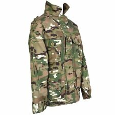 Kids Boys Army Camouflage Camo Jacket Cadets Military British Army MTP Style