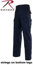 Navy Blue 6-Pocket Military 100% Cotton Rip-Stop BDU Cargo Fatigue Pants 5929