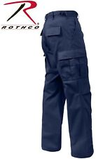 Midnite Navy Blue Police 6-Pocket Military Poly/Cot BDU Cargo Fatigue Pants 7982