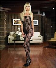 VARIOUS Sex y Romantic Rose Lace Crotchless Bodystocking - Catsuit Playsuit BNIP