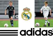 BALE RONALDO JAMES- Shirt Kids Boys Jersey Shorts SET ADIDAS + LOGO REAL MADRID