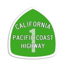 Pacific Coast Highway Sticker - California 1 Sign Decal West Coast