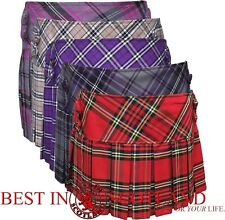 "Tartan Skirts - All Occasions All (14"" and 18"") Button Skirt, Size 6 - 16"