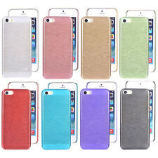 For Iphone 4s 5 5s 5c 6 6Plus New Crystal Brushed Design Hard case back cover