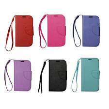 Flip Wallet and Case (with Wrist Strap) For Samsung Galaxy Exhibit T599 NEW